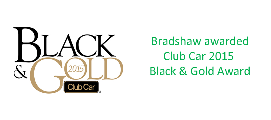 Club Car Black & Gold Award